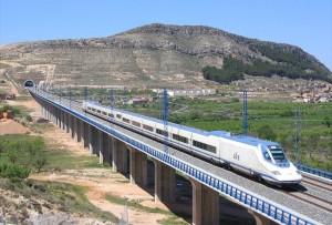 Tren de Alta Velocidad. AVE. rintiland.es