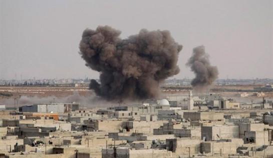 La coalición bombardea Raqa, bastión sirio de Estado Islámico