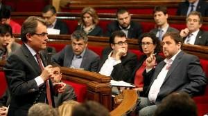 """El gobierno catalán advierte al TC de """"extremismo político y violencia"""""""