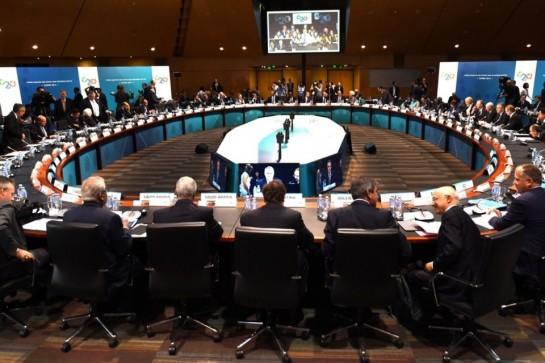 Comienza el foro empresarial del G20 con una cerrada defensa del libre comercio