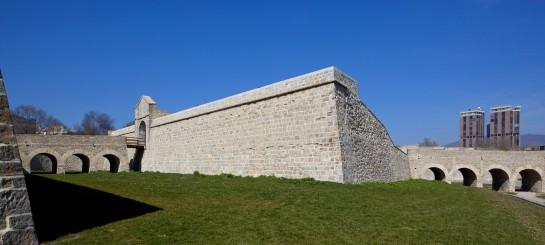 Muralla de Pamplona. www.fortiuspamplonabayonne.eu