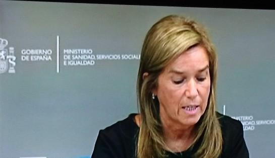 "Ana Mato ""resuelve"" la crisis en dos minutos"