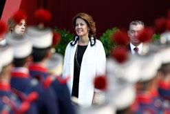 Barcina acude a Madrid para la celebración del día de la Hispanidad