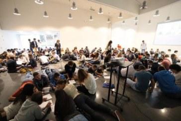 130 estudiantes de Bachillerato de Navarra y País Vasco participan del 'Día del dibujo' en el Museo Universidad de Navarra