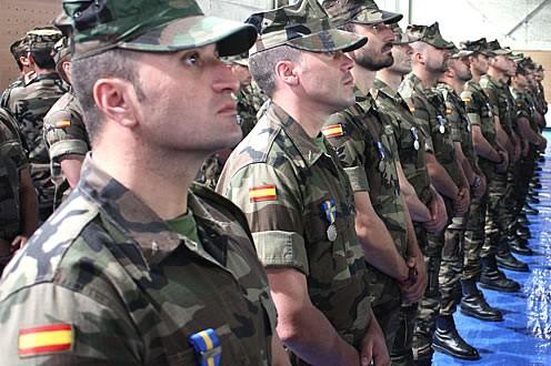 Unos 300 militares españoles instruirán al ejército de Irak