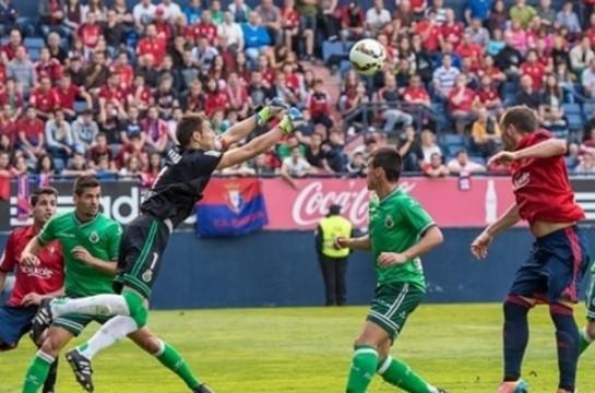 0-2: Osasuna no disipa las dudas y cae en el Sadar frente al Racing
