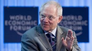 El ministro de Finanzas alemán, Wolfgang Schäuble