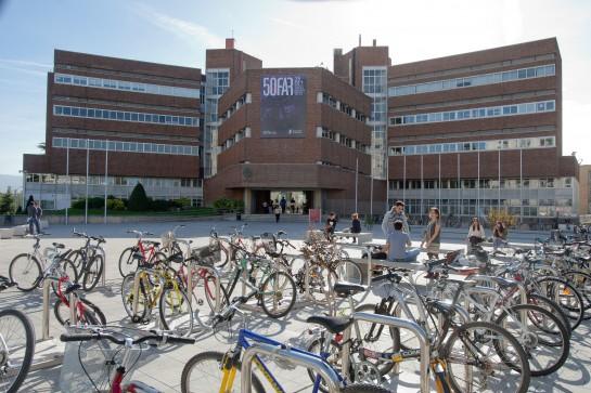 Pamplona tendrá una red de aparcamientos para bicis rotatorios