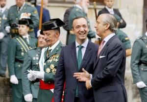 Interior asegura que la Guardi Civil jamas abandonará Euskadi