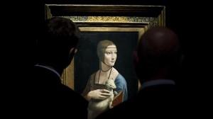 "Revelan secretos de ""La dama del armiño"" de Da Vinci"