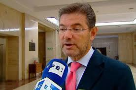 """Catalá, ministro de Justicia, pide """"ejemplaridad"""""""