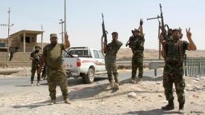 Soldados kurdos (peshmerga) lograron recuperar el control de la ciudad de Zumar, en el norte de Irak.