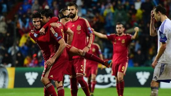 España reacciona en terreno luxemburgués