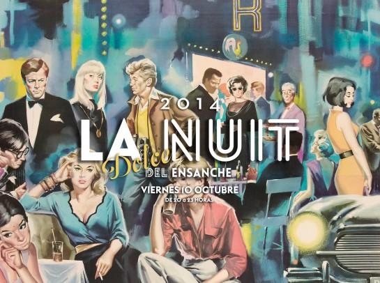 AGENDA: 10 de octubre, Ensanche de Pamplona, La Nuit
