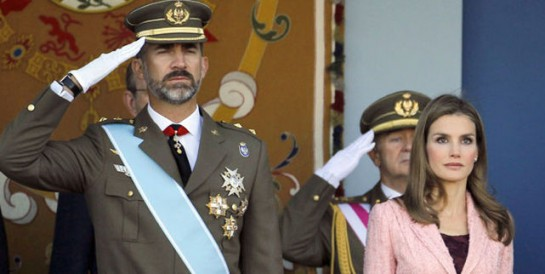 El primer desfile militar del 12 de octubre de Felipe VI como rey costará cerca de 800.000 euros