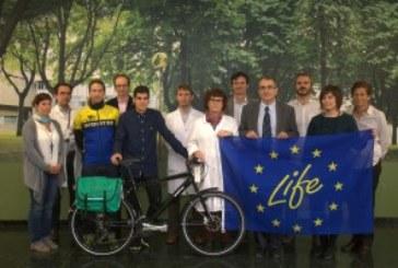 El proyecto LIFE+Respira de la Universidad de NAvarra lanza una campaña para el uso de la «bici»