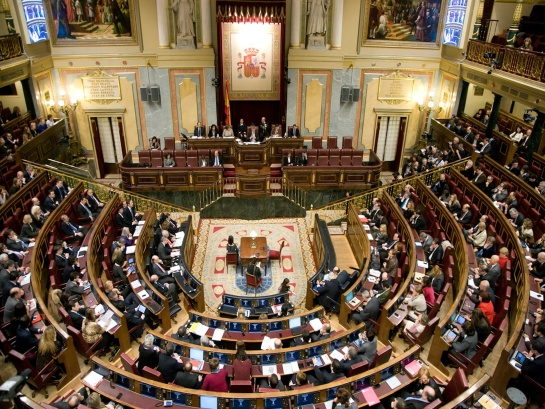 Hoy se constituyen las Cortes con Patxi López (PSOE) como presidente del Congreso