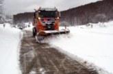 Obligatorio el uso de cadenas en tres carreteras navarras por la nieve