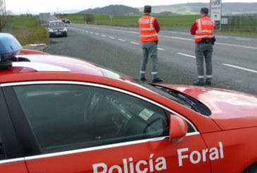 La Policía Foral denuncia a 385 vehículos en la operación salida