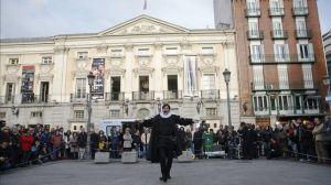 El Español saca el teatro a la calle por Navidad