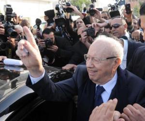 Essebsi gana  las presidenciales en Túnez
