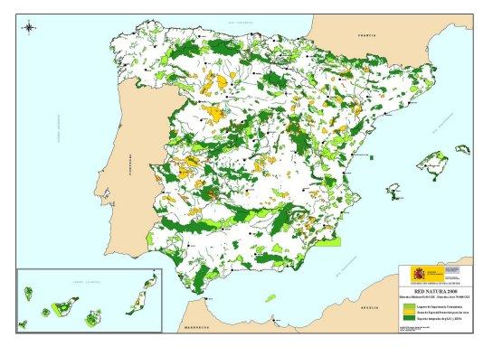 2014, el año del despegue de la red Natura 2000 en España