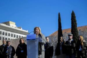 Ángeles Pedraza durante su intervención