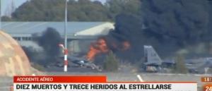 Accidente F 16 griego