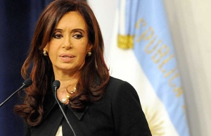 La presidenta argentina, Cristina-Fernández. DR
