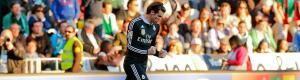 Gareth Bale celebra el gol de la victoria. Dr