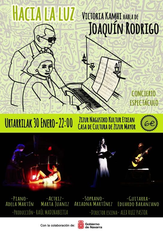 A la venta las entradas para  el reestreno del concierto-espectáculo «Hacia la luz» en Cizur Mayor