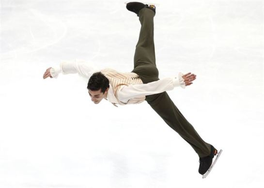 Javier Fernández, campeón de Europa de patinaje por tercera vez consecutiva