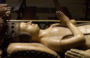 Leonor de Trastámara, sepulcro Catedral de Pamplona