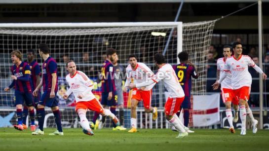 La estrategia de Osasuna tumba al Barcelona B