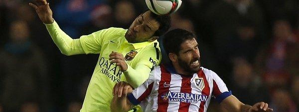 El contragolpe del Barcelona apea de la Copa al Atlético
