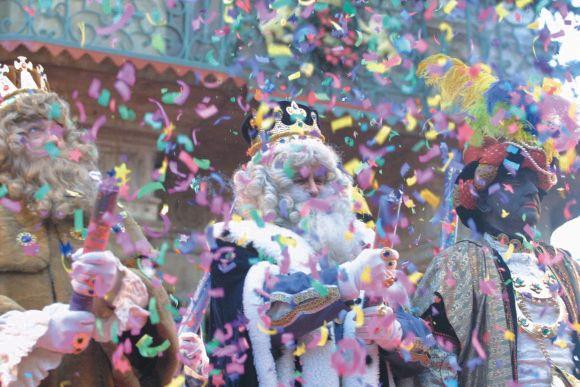Espectáculo de música, magia y teatro para recibir a los Reyes Magos de Oriente en Pamplona