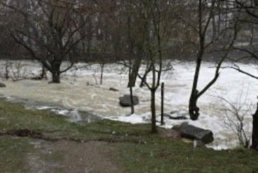 Aumento de caudal en la Cuenca del Ebro a causa de la «gota fría»