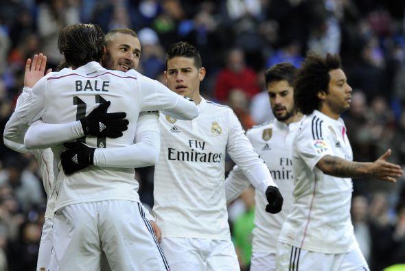 Benzema e Isco lideran la goleada del Madrid