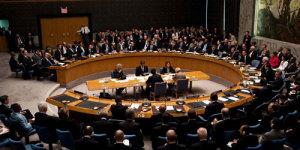 El Consejo de Seguridad de la ONU. DR