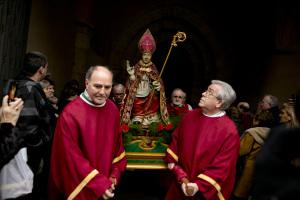 San Blas en procesión