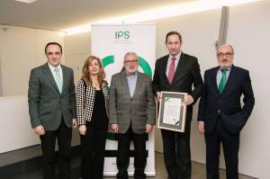 La empresa navarra Papelera del Ebro recibe el certificado IPS
