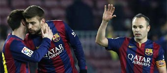 El Barcelona se acerca a la final de Copa tras derrotar al Villarreal en el Camp Nou (3-1)
