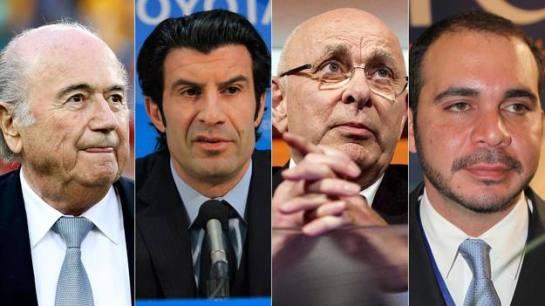 Figo y un príncipe jordano aspiran a derrocar a Blatter en la FIFA
