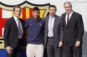 La Fiscalía pide juzgar a Bartomeu, Rosell y al Barça por el fichaje de Neymar