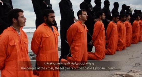 Estado Islámico decapita a 21 cristianos egipcios secuestrados en Libia