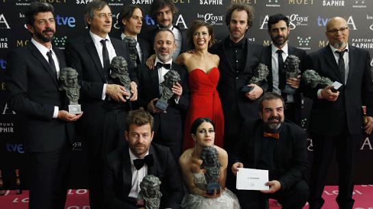 «La isla mínima» arrasa en los Goya, con 10 premios