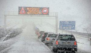 Frío polar en España