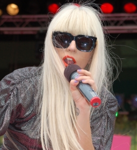 Lady Gaga, cropped. Wikimedia commons