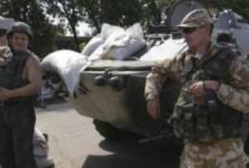 Rebeldes prorrusos atacan con misiles el Estado Mayor en el este de Ucrania