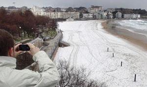 La ola de frío siberiano congela la mayor parte de España